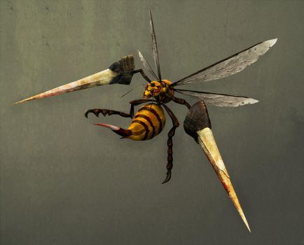 Beedrill Lv100 by kyougyo