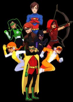 New Young Justice by gabzillaz