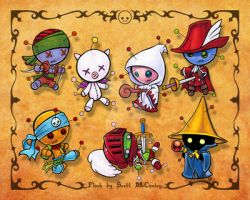 Voodoo Doll Flash - FF Series by Omedon