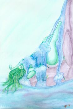 Molly as Water by mollygrace