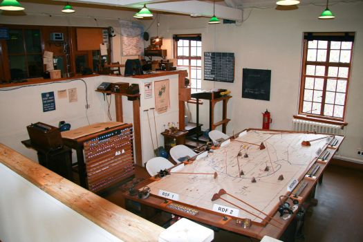 Duxford's Operations Room by Daniel-Wales-Images