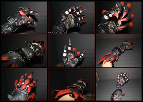 Dragon Claw Gauntlet by Neffertity