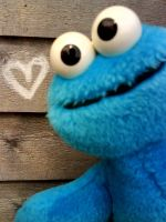 cookiemonster love by Bexxxii