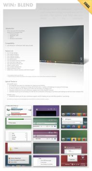 Win7-Blend for Windows 7 v1.8 by zainadeel