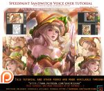 Sandwitch Speedpaint voice over tutorial .promo. by sakimichan