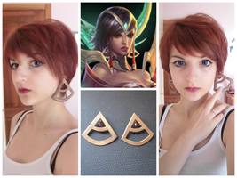 Karma' s earrings - Concept Cosplay W.I.P. by Scarlatta93