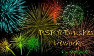 Fireworks Brushes by Mella68