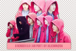 [PNG PACK ] D.O render - EXO by JulieMin