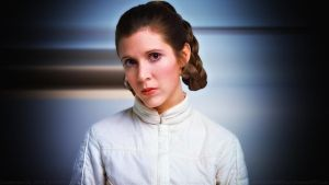 Carrie Fisher Princess Leia XXII by Dave-Daring