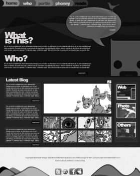 Fly Me Web Design by ableslayer