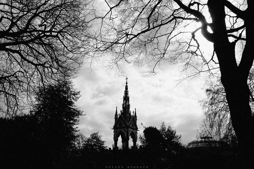 Postcards from London / The Royal Albert Memorial by everypathtonowhere