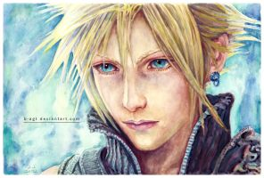 Cloud Strife by B-AGT