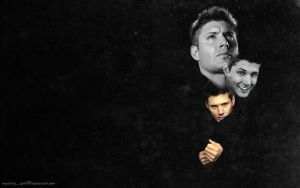 Trinity - J. Ackles Wall by virgothedreamer