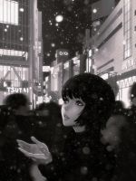 Snow by Kuvshinov-Ilya