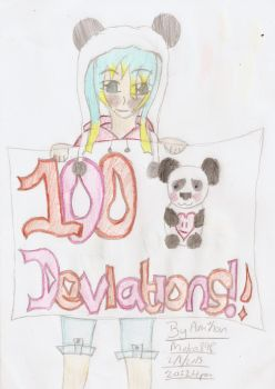 Finished 100th Deviations by Moka898