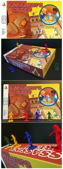 Assassin's Creed mock boardgame by weremagnus