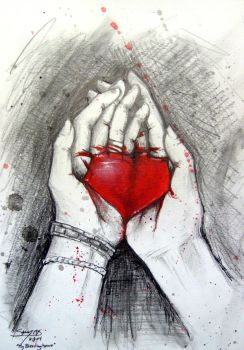 My Bleeding Heart by Kelii