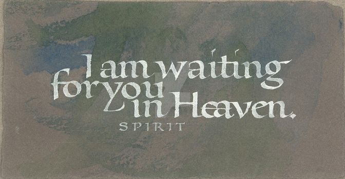 I Am Waiting For You In Heaven by isolationism