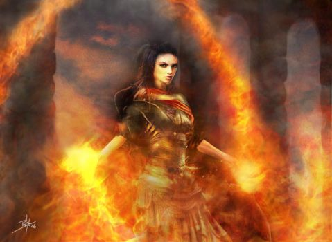 Fire Mage by d3fect