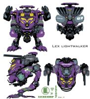LexCORP 'light' Walker by Chuckdee