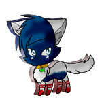America the cat for Flagartist's contest by Canadian-cookie
