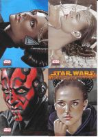 Star Wars cards by sarahwilkinson