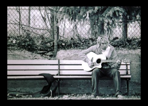 The Sound of a Lonely Guitar by KennyBlankenship