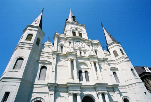 St Louis Cathedral II by frchblndy-stock