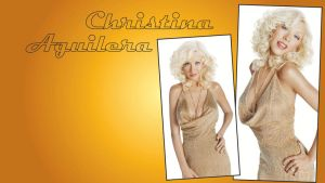 Christina Aguilera by ResolutionDesigns