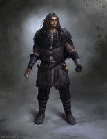 Grimwood Character Concept Illustration 1 by Cloister