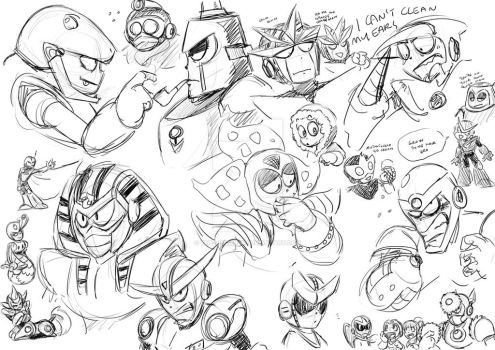 Sketchdump 14 10 15 by The-Letter-W
