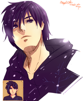 Sebastian from Stardew Valley by ToshioHD