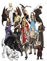 Game of Thrones by Fandias