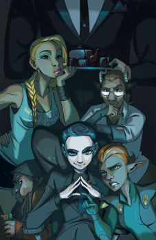 Diabolical Posse by iesnoth