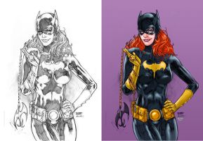 Batgirl_Colored. by Troianocomics