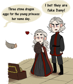 A game of Rhaegar - Daenerys her name day by appelpitje1