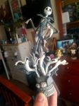 Jack Skellington Graveyard Figurine by rainbowthefox