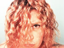 My Eighties Curly Hair by MandiIlene