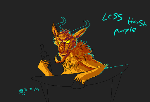 Fire It Up Goat Redraw (wip) by Whispering-forests