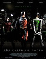 THE CAPED CRUSADER - POSTER I by MrSteiners