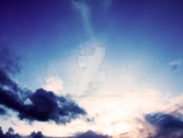 Clouds in the sky two by watsup223