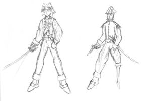 Space Pirates Concept Art 1 by ARKARY