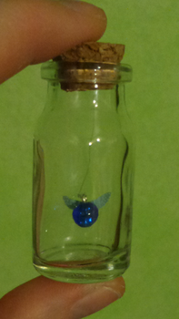 Navi (Fairy) in a Bottle by Cookikeks