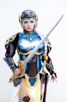 Lenneth: Valkyrie Profile Covenant of the Plume by AKABurningFlame