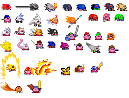 More Kirby Forms by KENNYPWNAGE