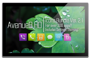 AvenueB HD Icons Bundle Ver2.1 by TheCrushader