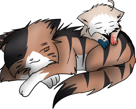 Cat nap :request: by AskNekoIndia