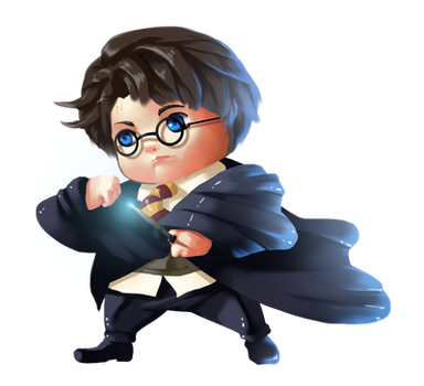 Chubby Potter by angel-ico