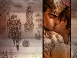 Guts and Casca by GetBackerlover