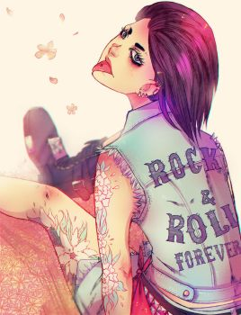 rockandroll forever by K0niks